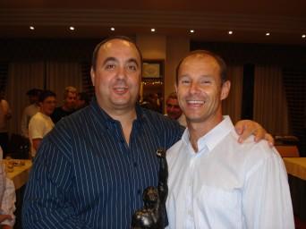 con Antonio Oca