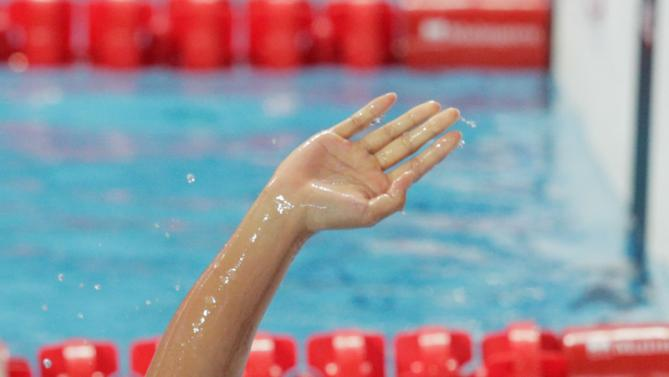 KAZAN, RUSSIA - AUGUST 02:  Kanako Watanabe of Japan reacts after competing in the Women's 200m Individual Medley Semifinals on day nine of the 16th FINA World Championships at the Kazan Arena on August 2, 2015 in Kazan, Russia.  (Photo by Adam Pretty/Getty Images)